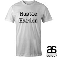 Hustle Harder Blanc Thumbnail